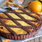 Crostata arancia e cioccolato - senza burro