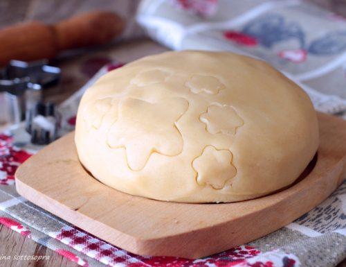Pasta frolla per biscotti al burro