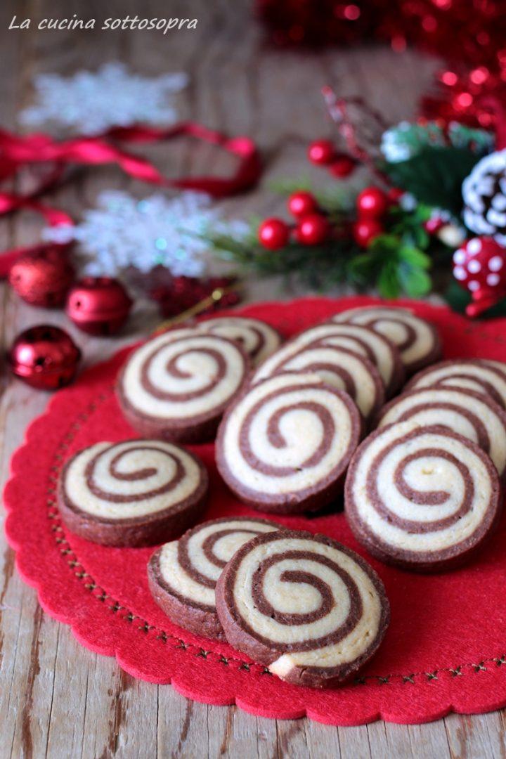 biscotti bicolore girelle