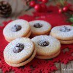 Biscotti con Nutella di pasta frolla - Occhi di bue alla Nutella