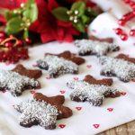 Biscotti cioccolato e cocco - frollini al burro