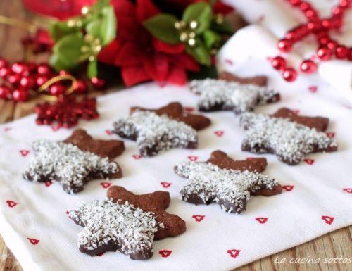 Biscotti cioccolato e cocco – frollini al burro