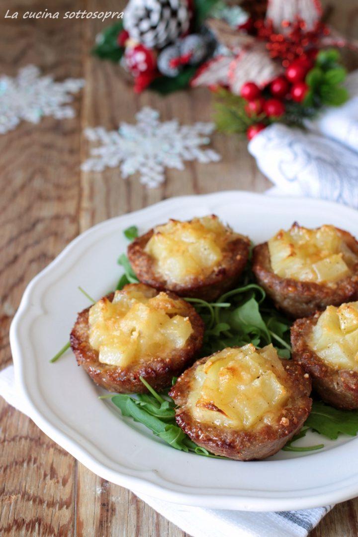 cestini di carne con patate