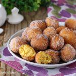 Frittelle dolci di zucca con e senza Bimby
