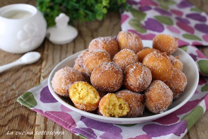 frittelle dolci di zucca bimby