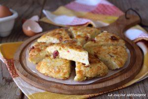 frittata di riso con salumi e formaggi ricetta
