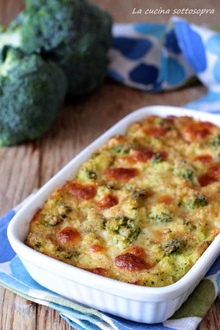 sformato di patate e broccoli