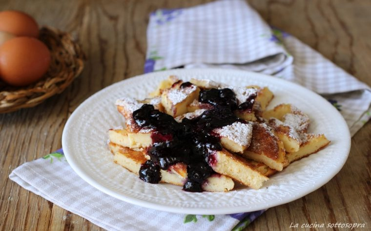Kaiserschmarren – frittata dolce dell'imperatore