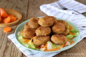 polpette di lenticchie e patate vegetariane