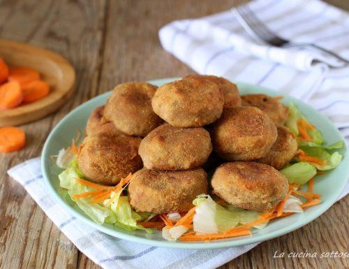 Polpette di lenticchie e patate