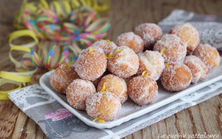 Castagnole al limone – anche Bimby