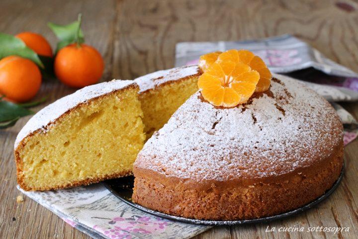 torta al succo di mandarini senza latte e burro