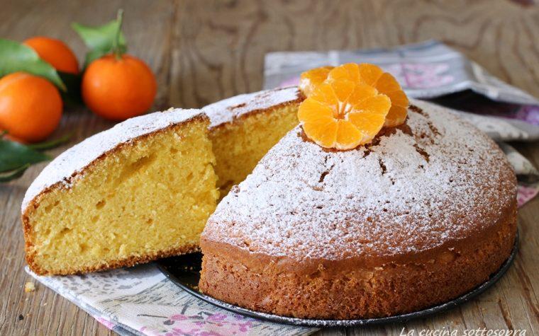 Torta al succo di mandarini – senza latte e burro