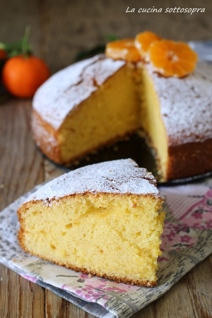 torta al succo di mandarini