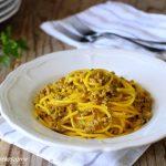 spaghetti salsiccia e zafferano ricetta veloce