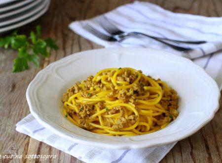 Spaghetti salsiccia e zafferano – pronti in 30 minuti