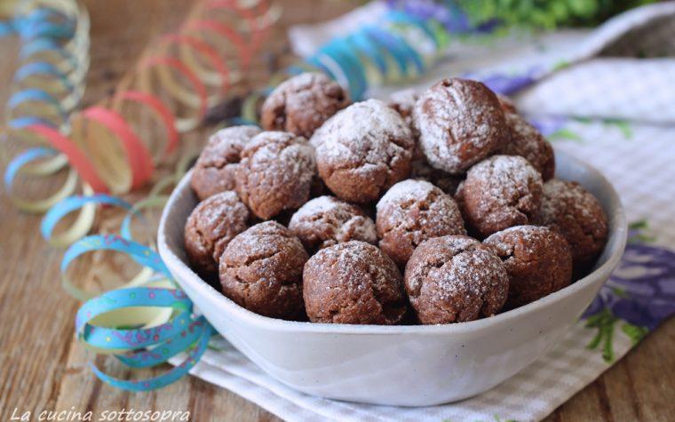 Palline al cacao senza lievitazione – morbide e veloci