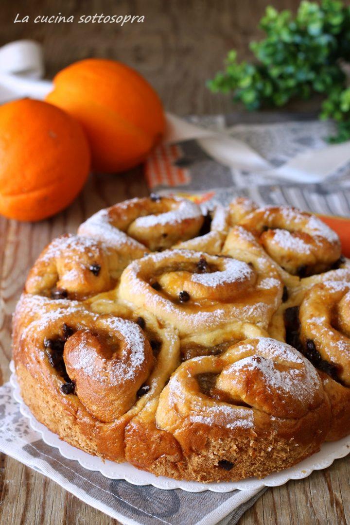 torta di rose con marmellata di arance