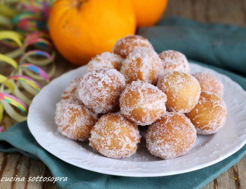 Castagnole arancia e cannella – pronte in 30 minuti