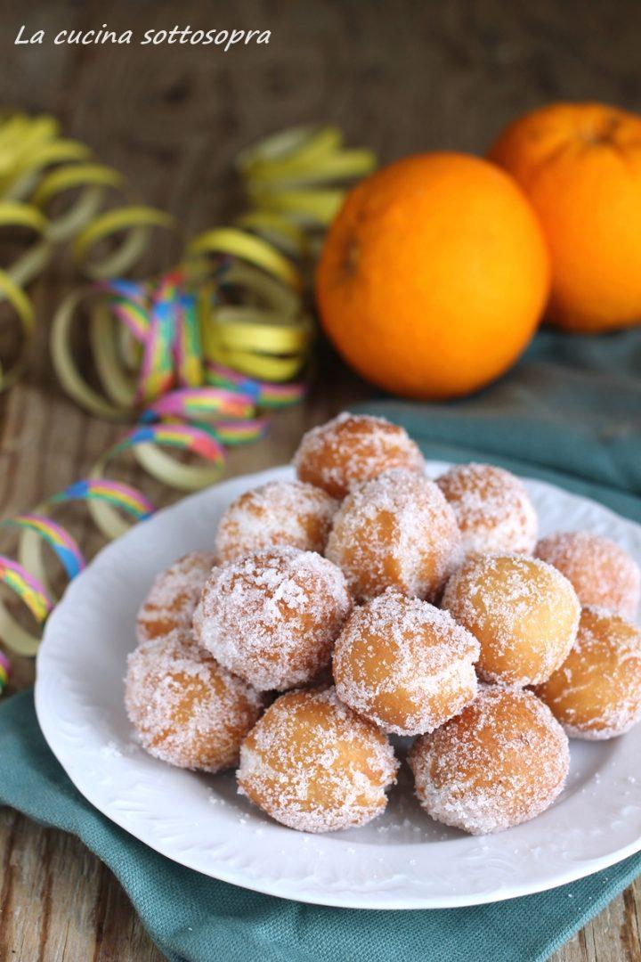 castagnole arancia e cannella
