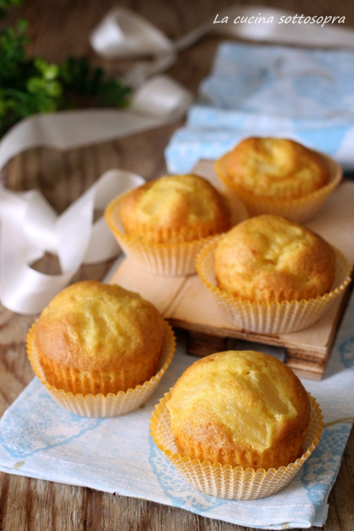 muffin arancia e ananas