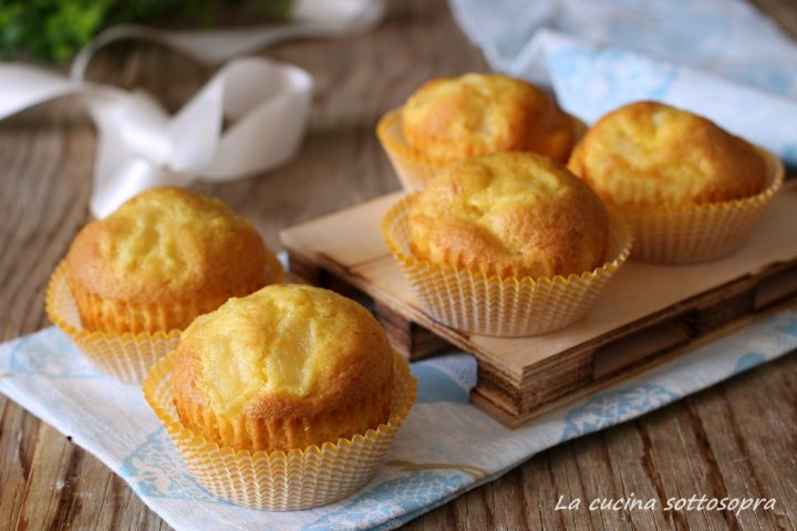 muffin arancia e ananas senza burro