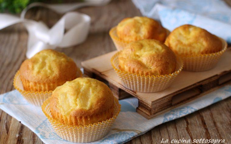 Muffin arancia e ananas senza burro – con e senza Bimby