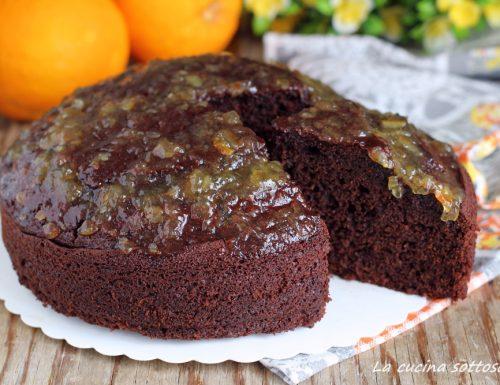 Torta cioccolato e arancia senza sbattitore – pronta in 5 minuti