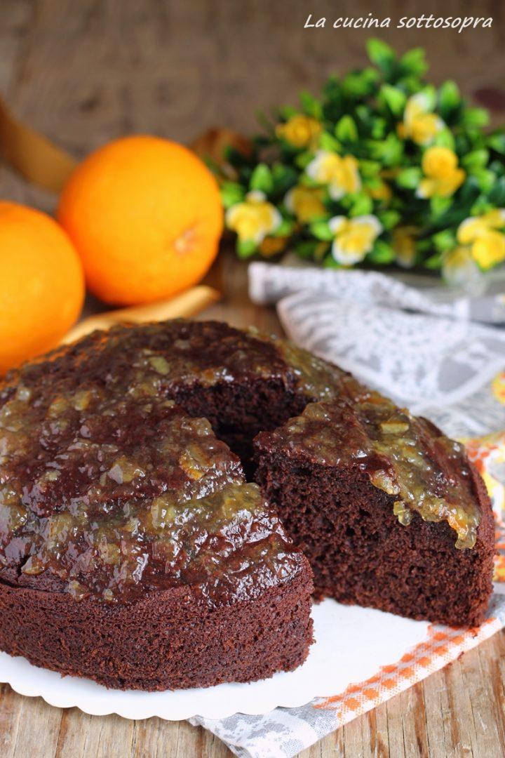 torta cioccolato e arancia senza sbattitore