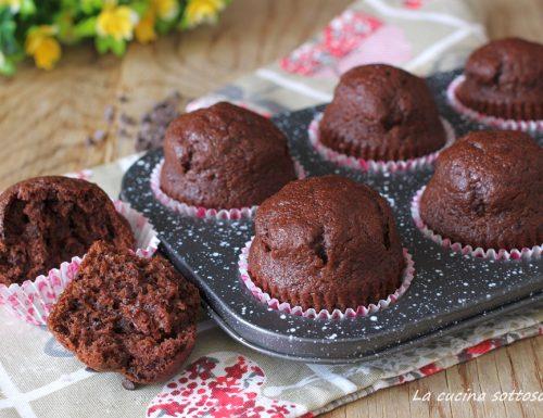 Muffin al cioccolato senza burro di Nigella Lawson – facilissimi senza sbattitore
