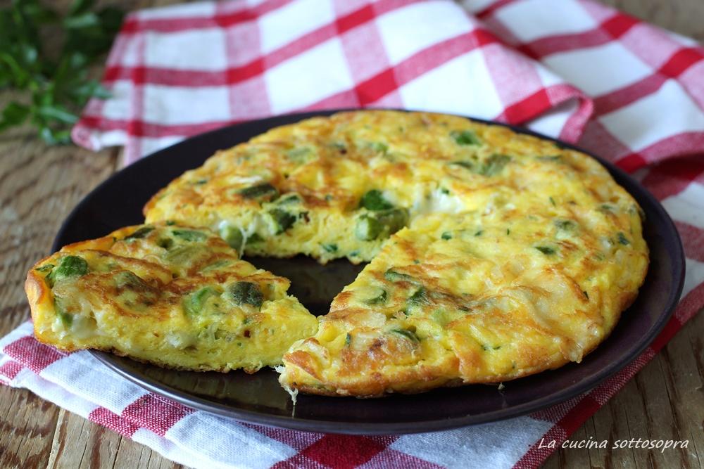 Ricetta Frittata Con Asparagi.Frittata Con Asparagi E Scamorza La Cucina Sottosopra