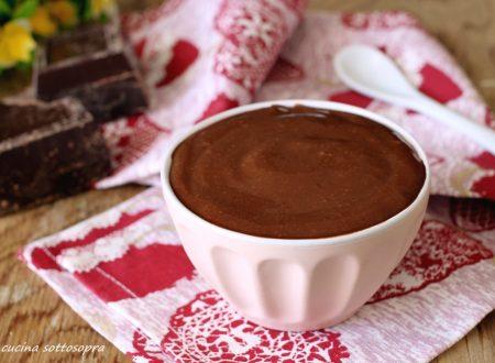 Crema al cioccolato fondente – con e senza Bimby