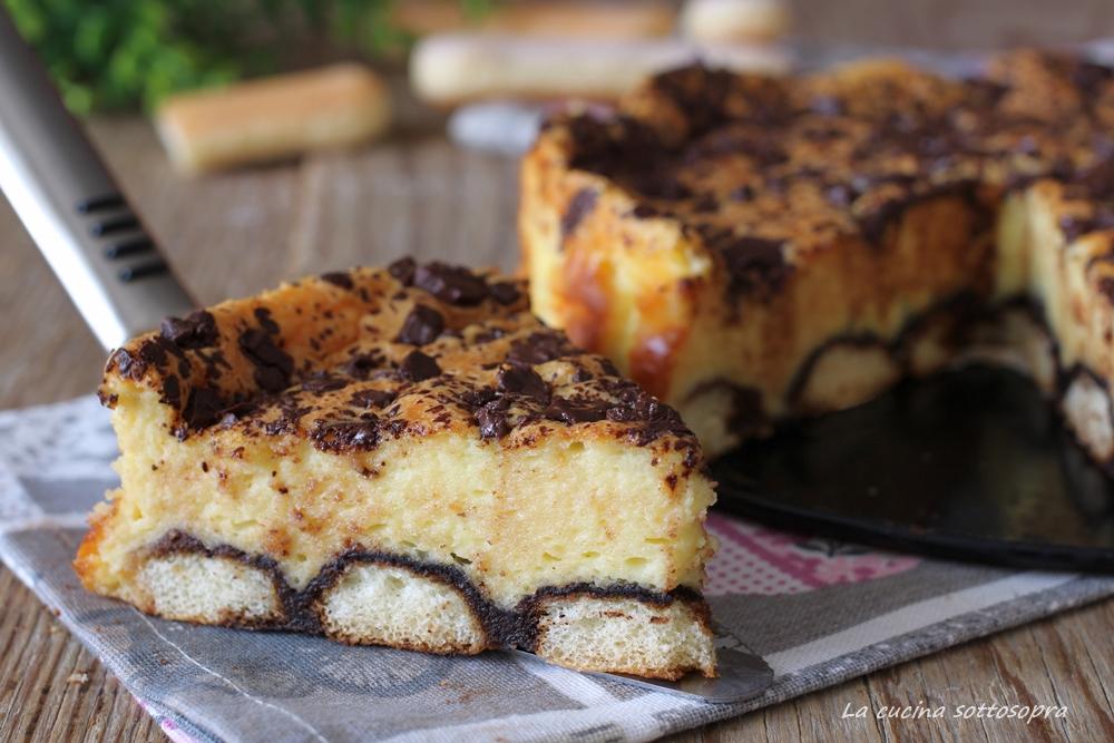 torta tiramisù al forno facile