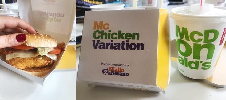 McChicken Variation McDonald's