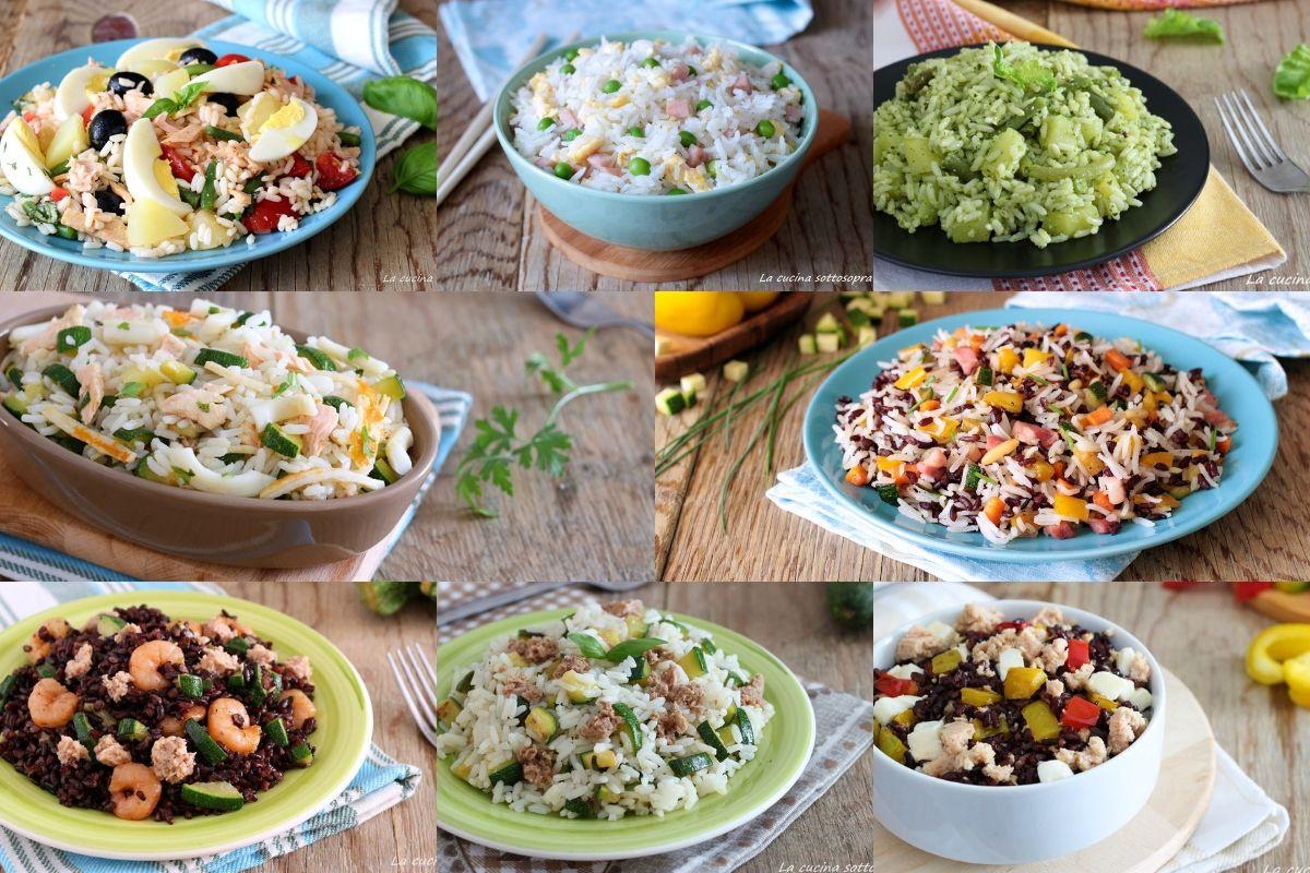 ricette di insalate di riso
