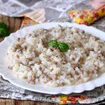 risotto di carne macinata ricetta