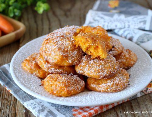 Biscotti alle carote senza latte e uova