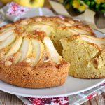 torta di mele e nocciole