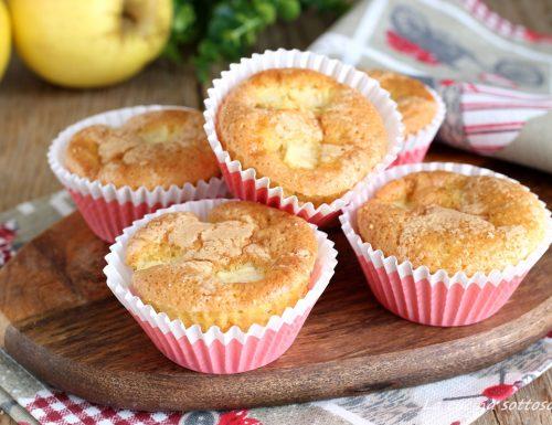 Muffin alle mele senza burro sofficissimi