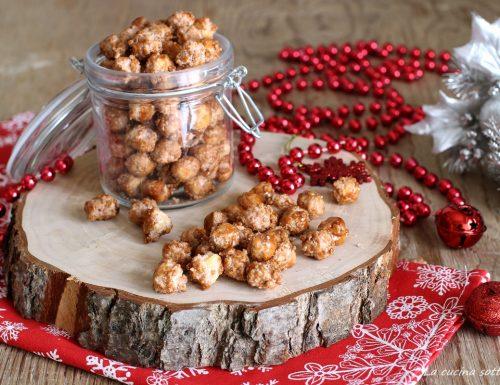 Nocciole zuccherate o pralinate – ricetta natalizia