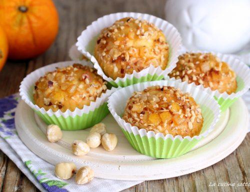 Muffin all'arancia e nocciole senza burro