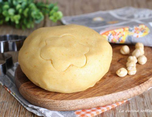 Pasta frolla alle nocciole -con e senza Bimby