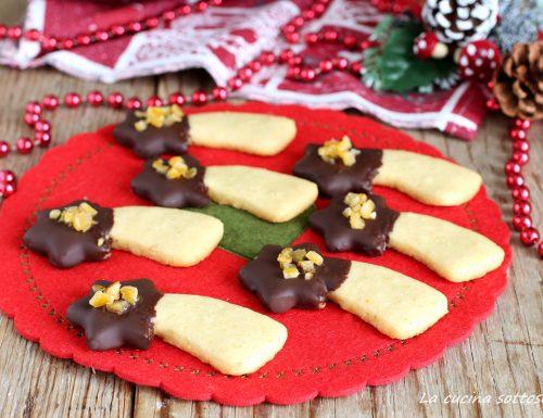 Biscotti arancia e cioccolato al burro – con Bimby e senza Bimby