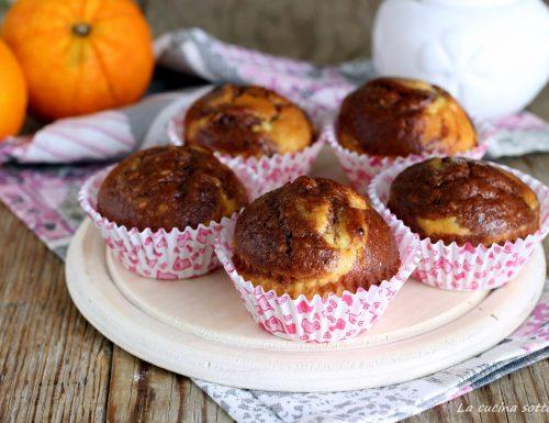 Muffin marmorizzati senza burro
