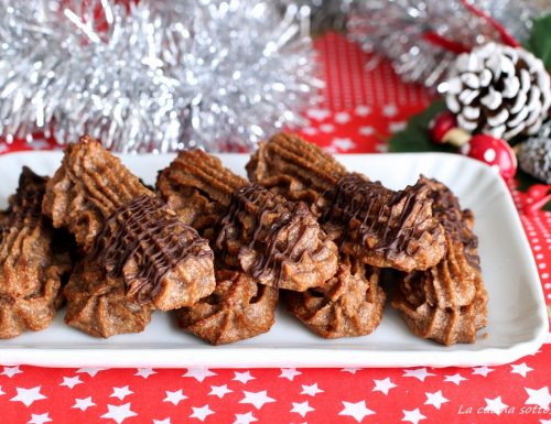 Paste di mandorla al cioccolato- con e senza Bimby