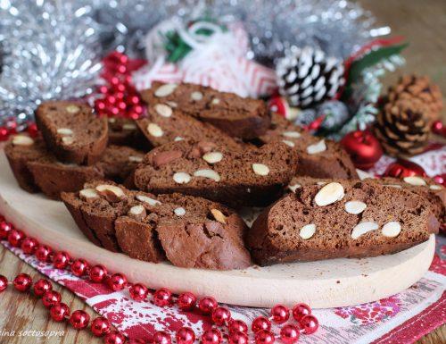Cantucci al cacao e mandorle con e senza Bimby