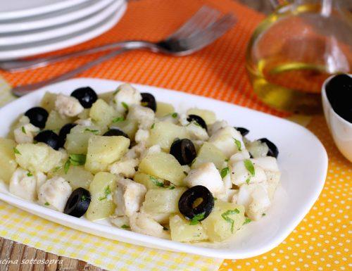 Insalata di baccalà e patate