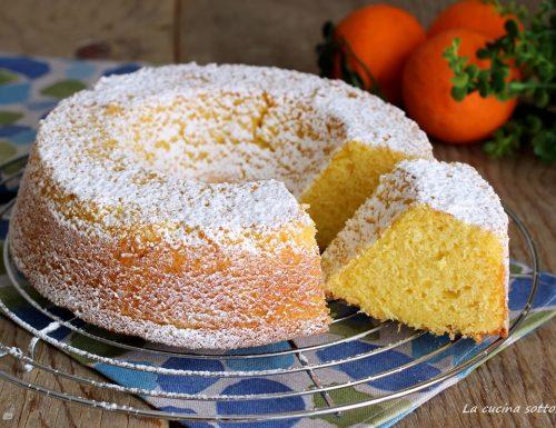 Ciambella con succo di arancia – velocissima senza latte e burro (anche Bimby)