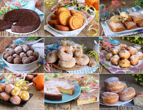 Ricette dolci di Carnevale facili – Raccolta di ricette