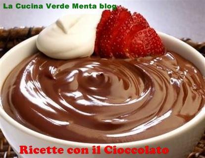 Budino al cioccolato biologico vegano
